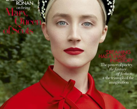 Saoirse Ronan covers Harper's Bazaar UK February 2019 by Erik Madigan Heck