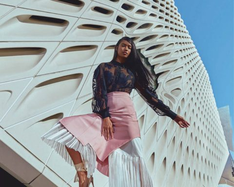 Selina Khan by Vikram Pathak for Harper's Bazaar India January February 2019