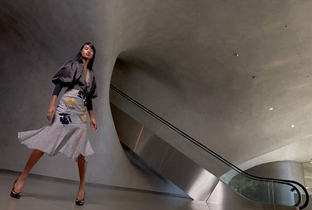 Selina Khan by Vikram Pathak for Harper's Bazaar India January February 2019