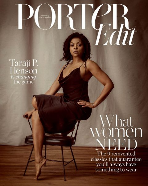 Taraji P. Henson covers Porter Edit January 18th, 2019 by Sam Taylor Johnson