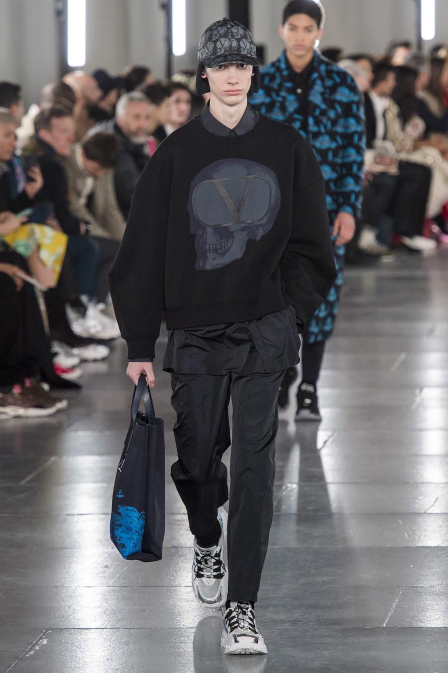 Valentino Men's Fall Winter 2019 - Paris Fashion Week