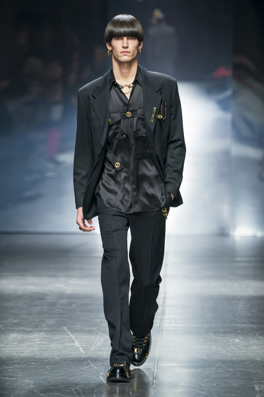 Versace Fall Winter 2019 – Milano Moda Uomo
