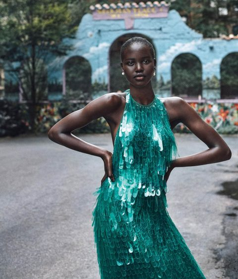 Adut Akech by Cass Bird for WSJ. Magazine February 2019