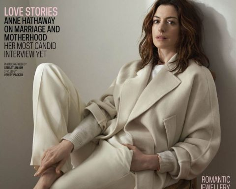 Anne Hathaway covers The Sunday Times Style February 10th, 2019 by Sebastian Kim