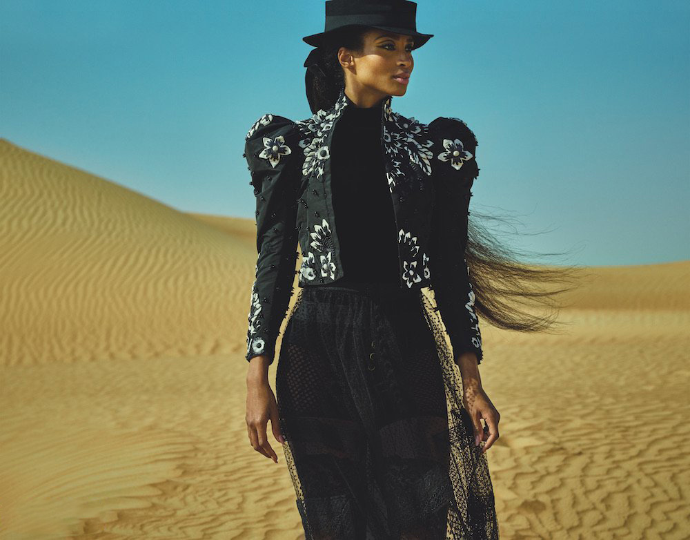 Ciara covers Vogue Arabia February 2019 by Mariano Vivanco