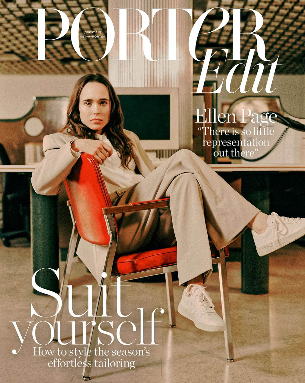 Ellen Page covers Porter Edit February 22nd, 2019 by Tiffany Nicholson