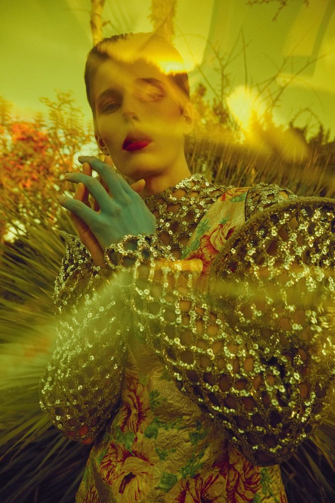 Emily Gafford by Sofia Sanchez & Mauro Mongiello for Numéro February 2019