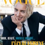 Erika Linder covers Vogue Paris February 2019 by Mikael Jansson