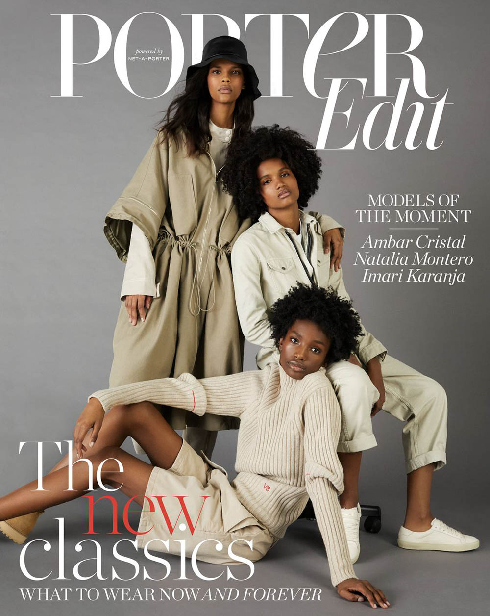 Imari Karanja, Ambar Cristal and Natalia Montero cover Porter Edit February 15th, 2019 by Leon Mark