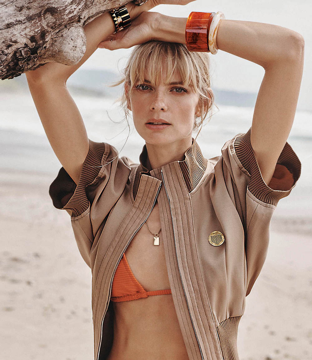 Julia Stegner by Benny Horne for Porter Magazine Spring 2019