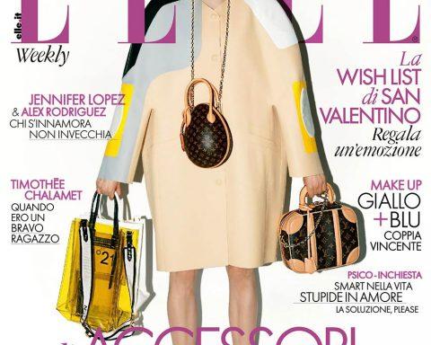 Laura Love covers Elle Italia February 8th, 2019 by Marcelo Krasilcic