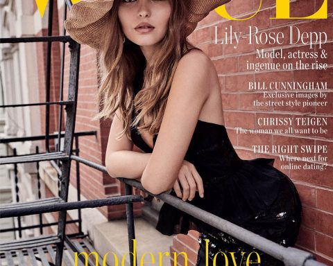 Lily-Rose Depp covers Vogue Australia February 2019 by Giampaolo Sgura
