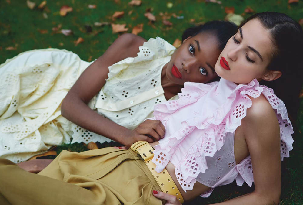 ''London Is Open'' by Erik Madigan Heck for Harper's Bazaar UK February 2019