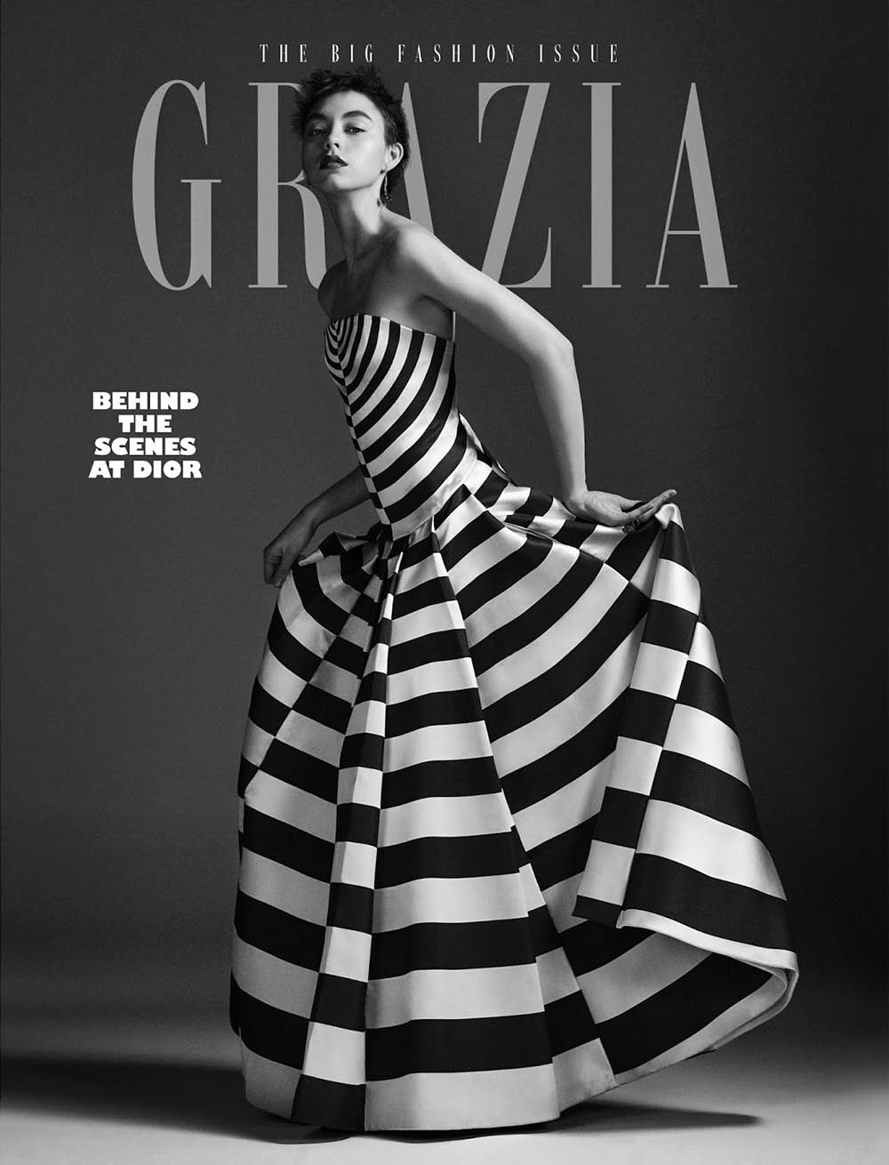 Ninouk Akkerman covers Grazia UK February 25th, 2019 by Alex Bramall