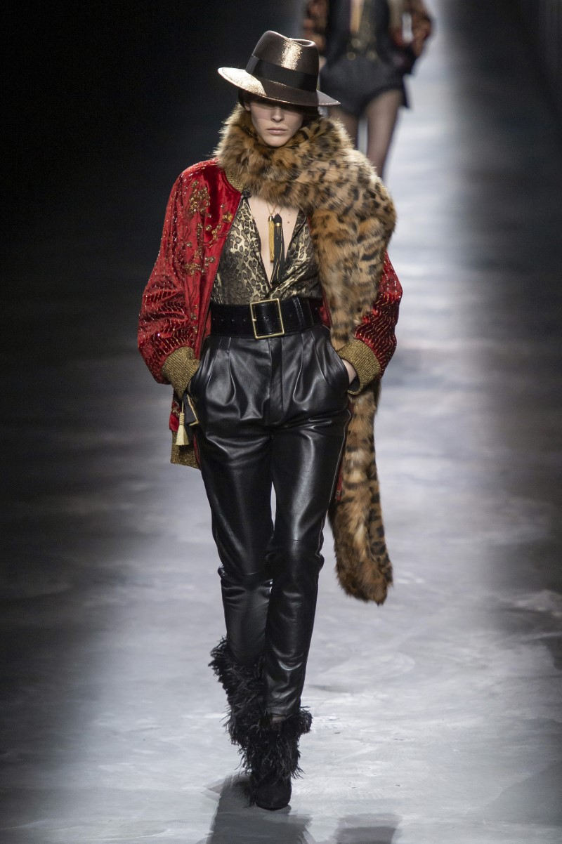 Saint Laurent Fall Winter 2019 - Paris Fashion Week