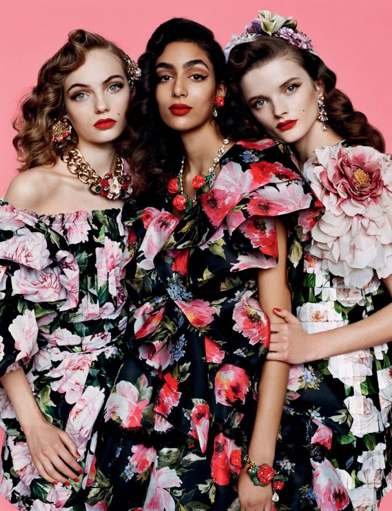 ''Spring Fever'' by Alasdair McLellan for British Vogue February 2019