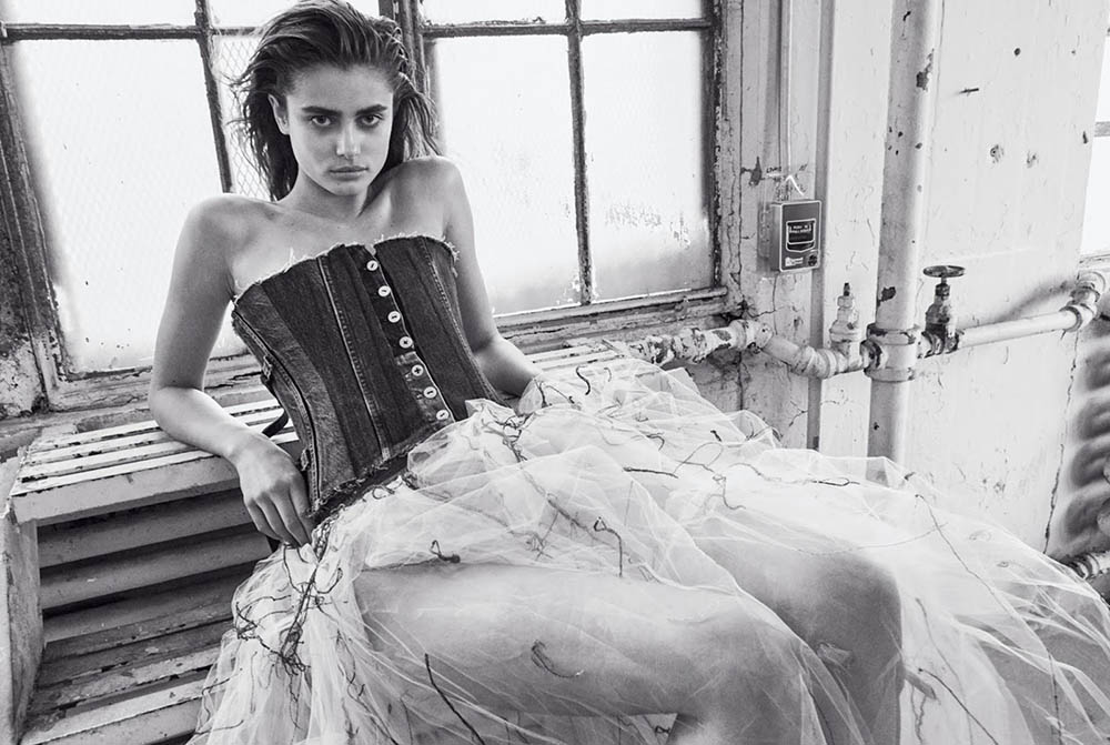 Taylor Hill by Daniel Jackson for WSJ. Magazine March 2019