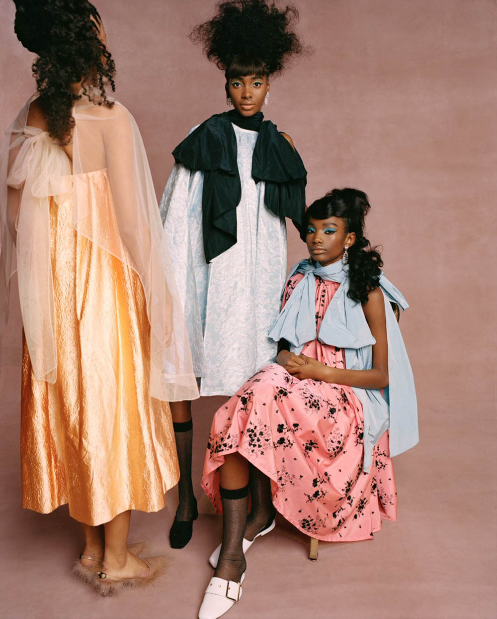 ''Black Cotillion'' by Nadine Ijewere for Garage Magazine Spring Summer 2019