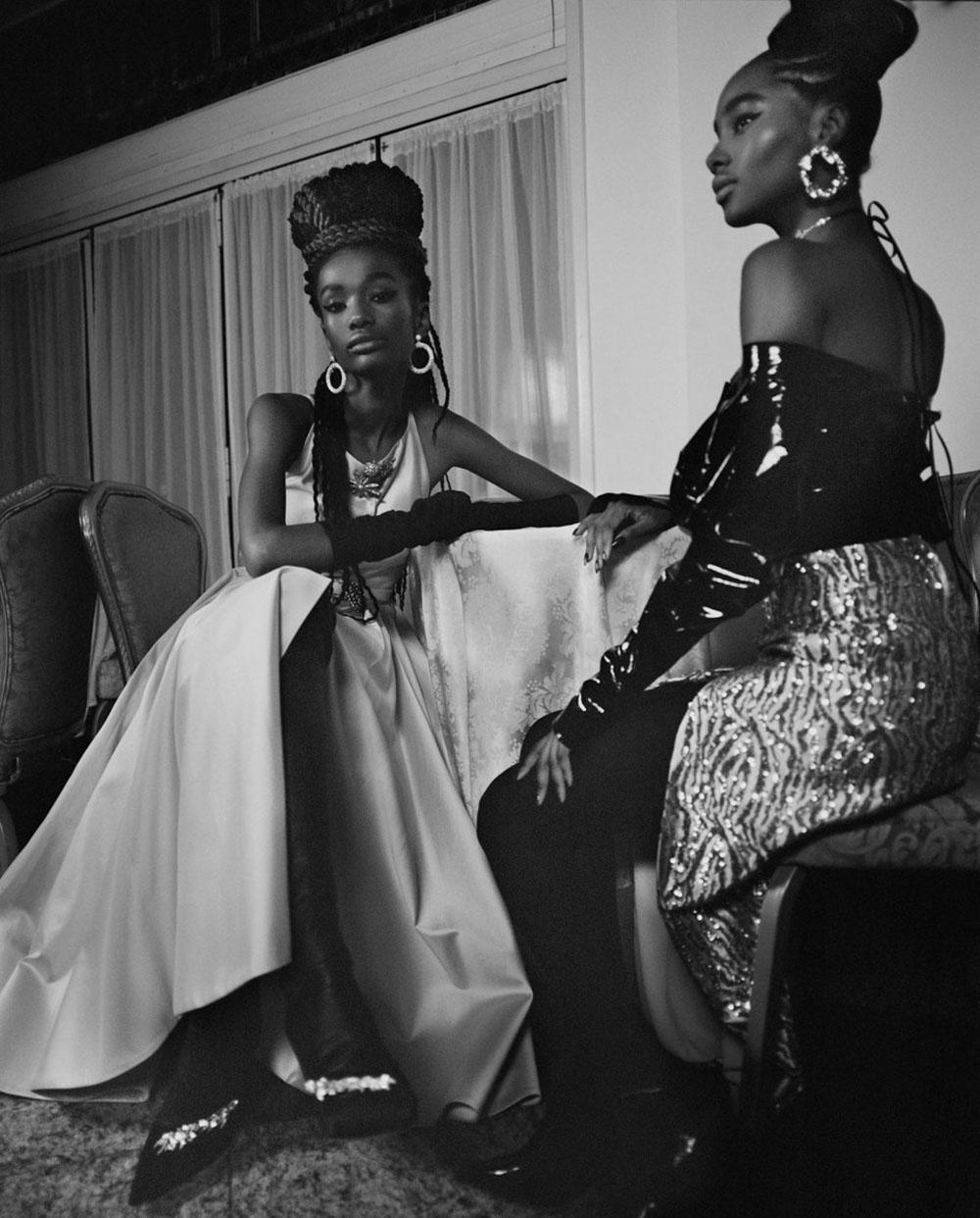 ''Black Cotillion'' by Nadine Ijewere for Garage Magazine Spring Summer 2019