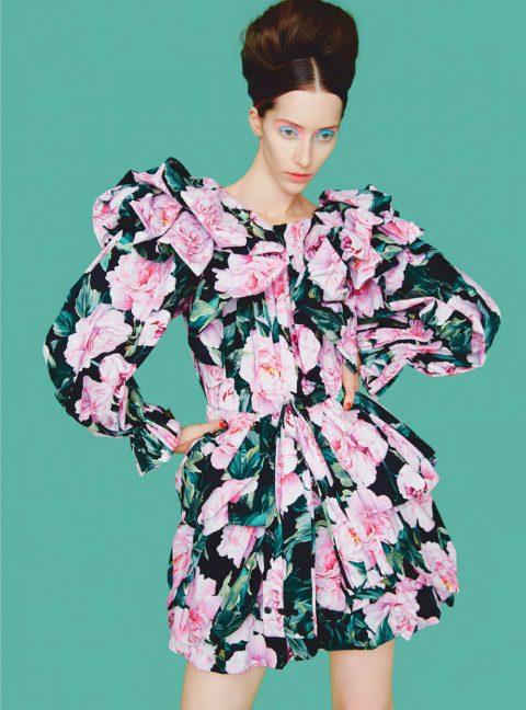 Alana Zimmer by Erik Madigan Heck for Harper's Bazaar UK March 2019