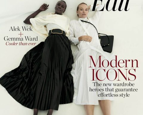 Alek Wek and Gemma Ward cover Porter Edit March 15th, 2019 by Claudia Knoepfel