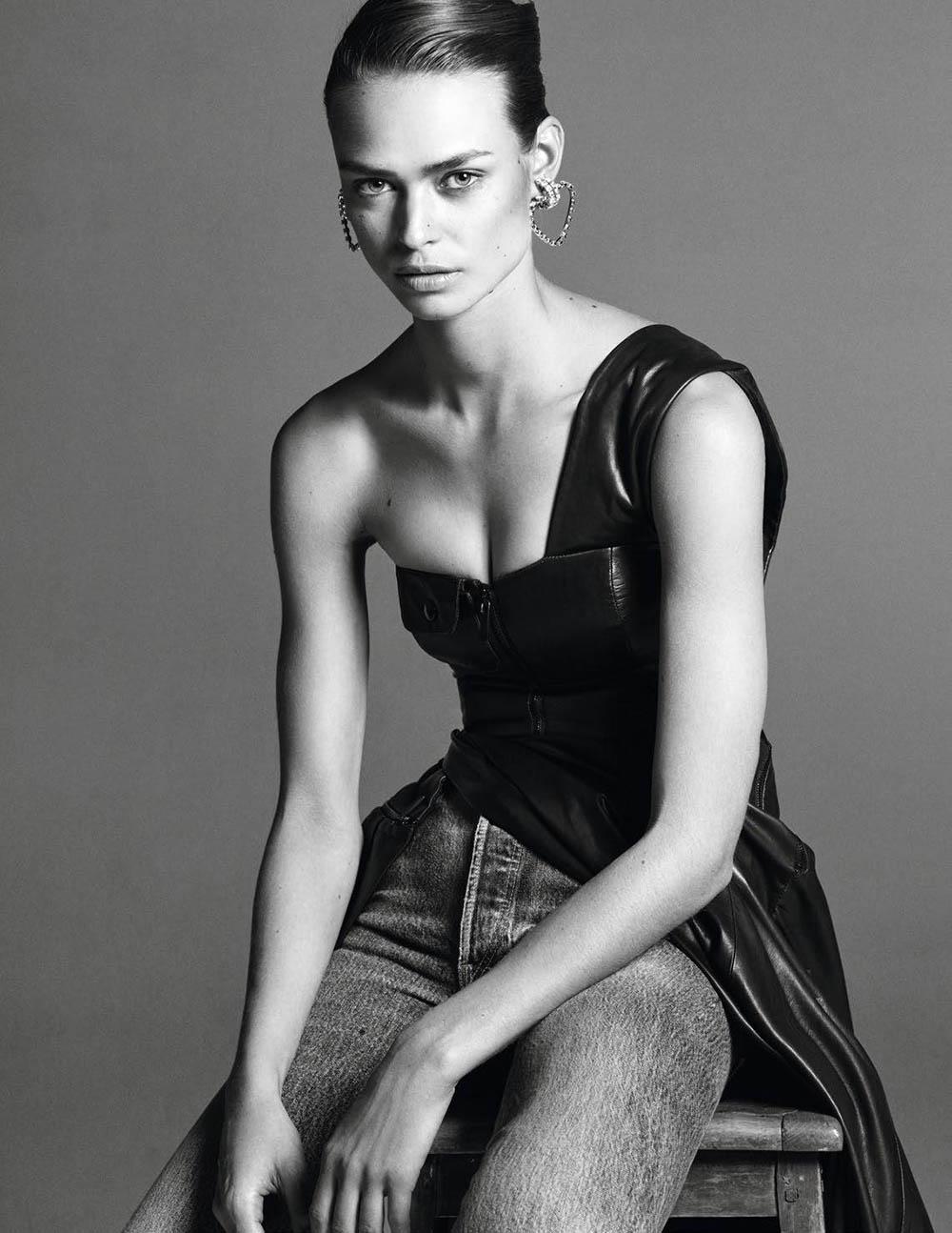 Birgit Kos by Christian McDonald for Vogue Paris March 2019