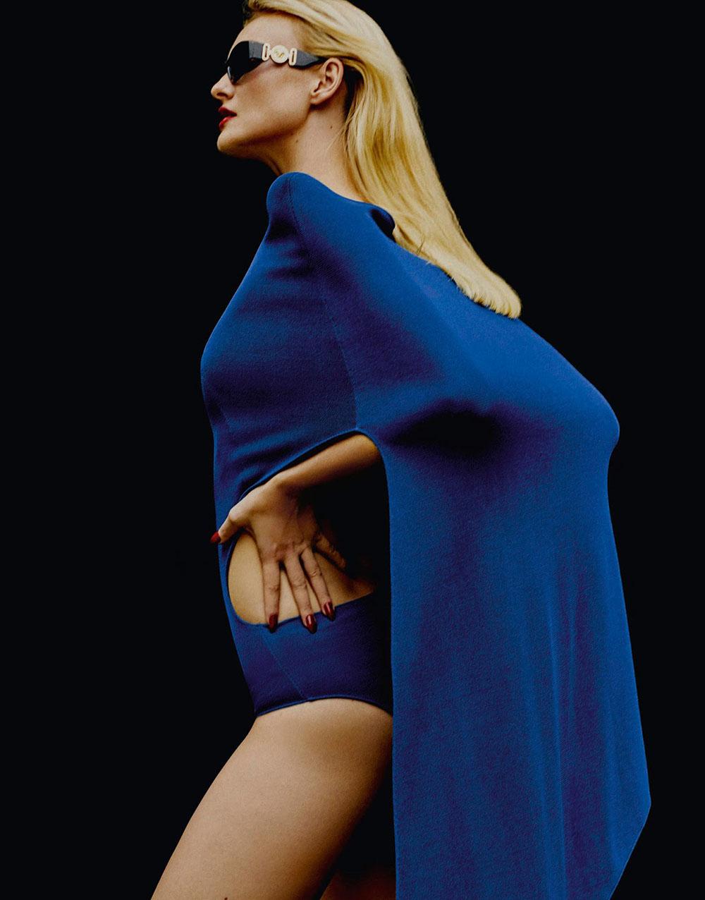 Caroline Trentini by Rafael Pavarotti for Porter Magazine Spring 2019