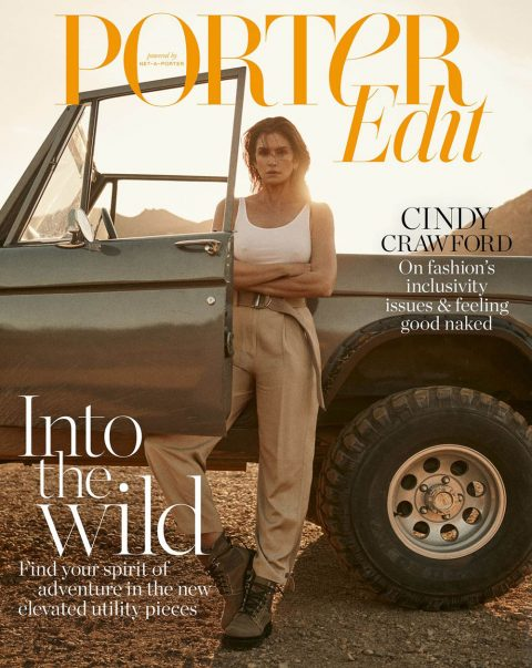 Cindy Crawford covers Porter Edit March 1st, 2019 by Zoey Grossman