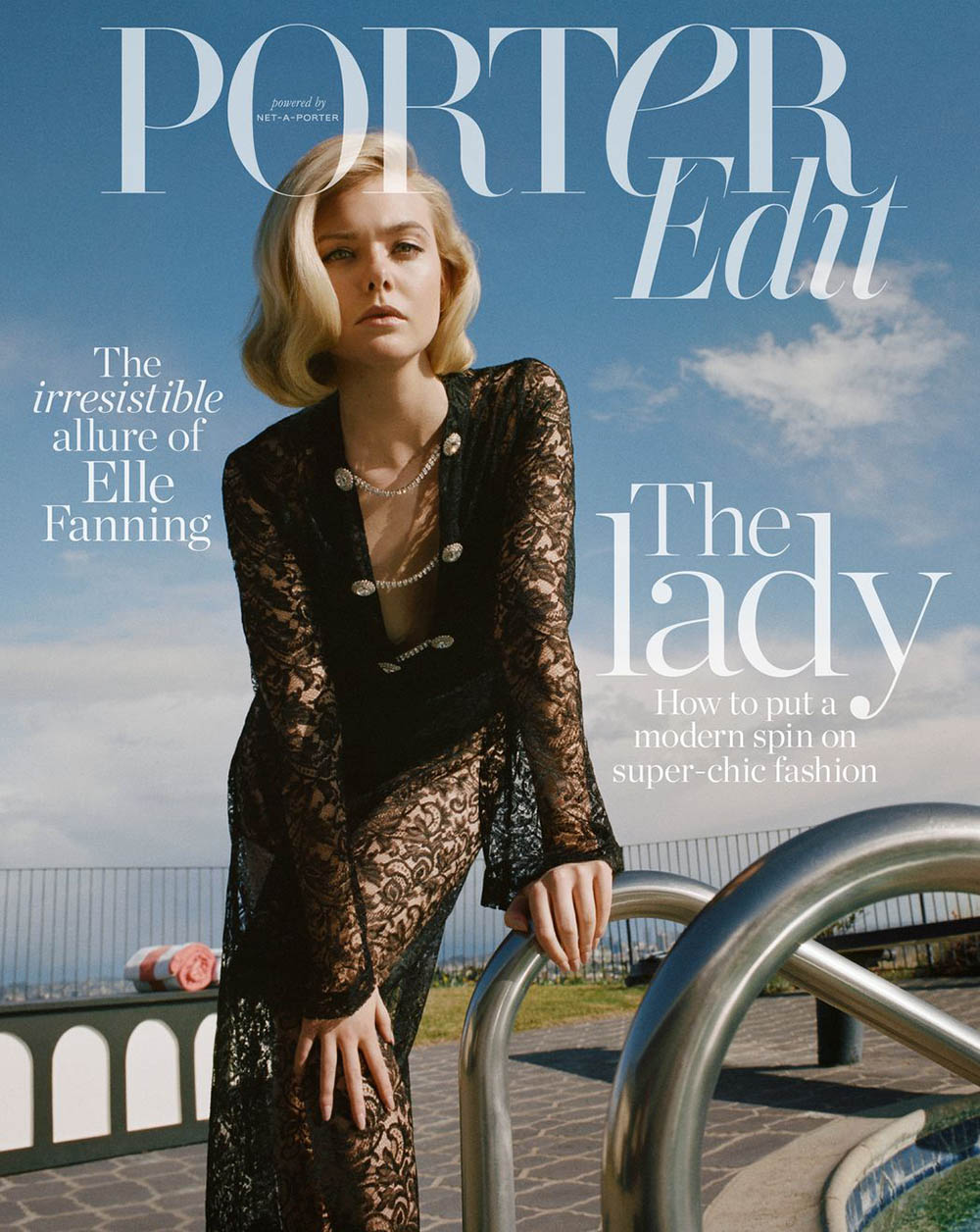 Elle Fanning covers Porter Edit March 22nd, 2019 by Matthew Sprout