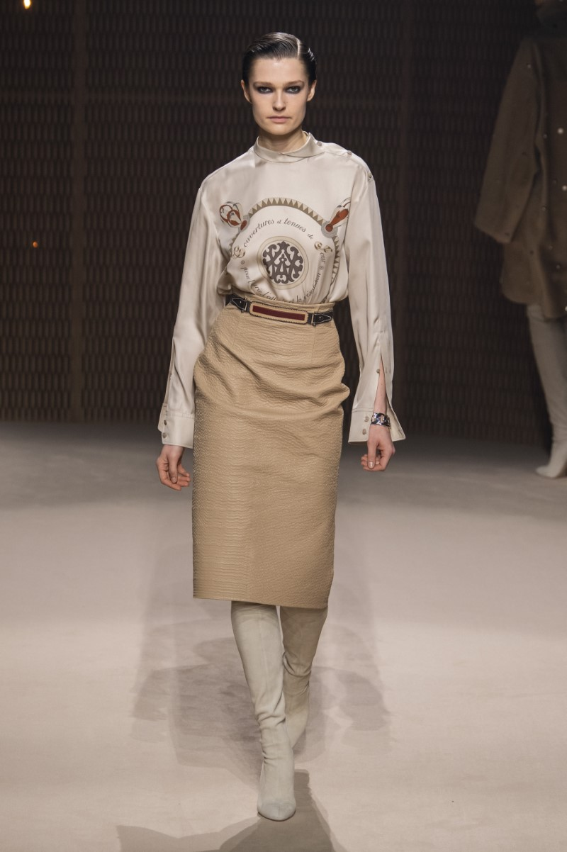 Hermès Fall Winter 2019 - Paris Fashion Week