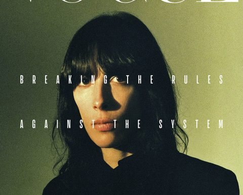 Jamie Bochert covers Vogue Portugal March 2019 by Branislav Simoncik
