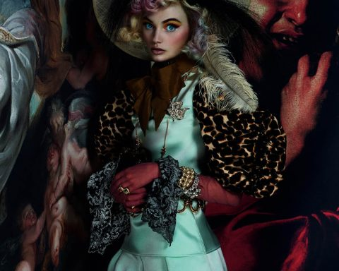 ''Joie de Vivre'' by Mert & Marcus for British Vogue March 2019