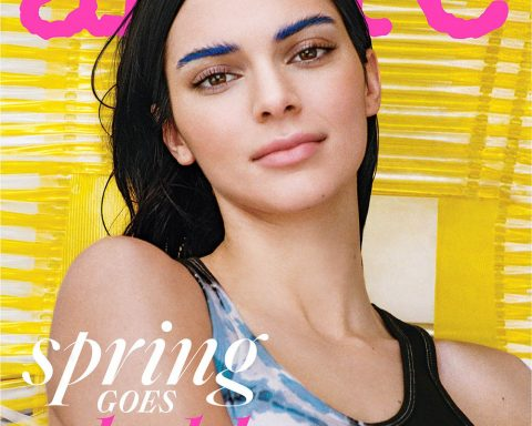 Kendall Jenner covers Allure US March 2019 by Cass Bird