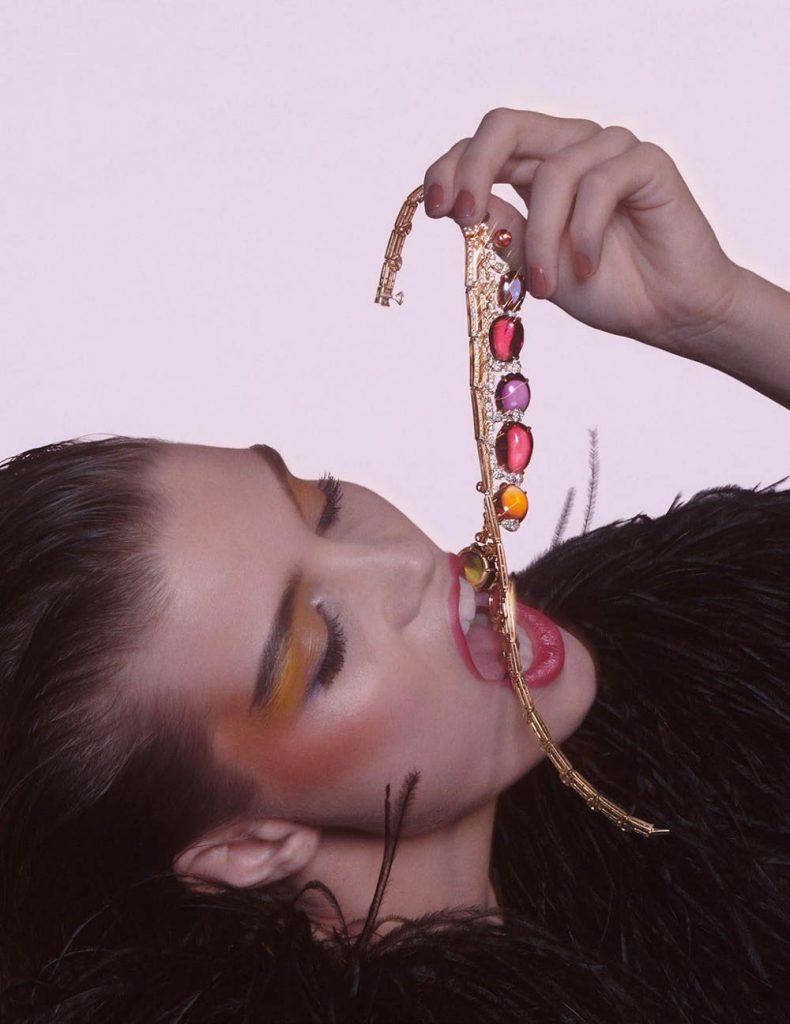 Luna Bijl by Charlotte Wales for Vogue Paris March 2019