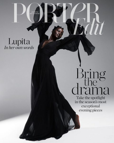 Lupita Nyong'o covers Porter Edit March 8th, 2019 by Paola Kudacki