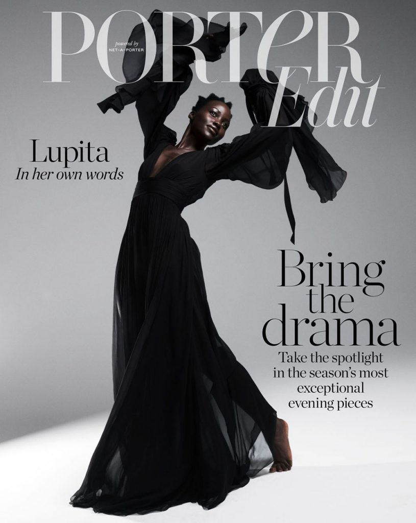 Lupita Nyong'o covers Porter Edit March 8th, 2019 by Paola Kudacki
