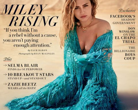 Miley Cyrus covers Vanity Fair March 2019 by Ryan McGinley