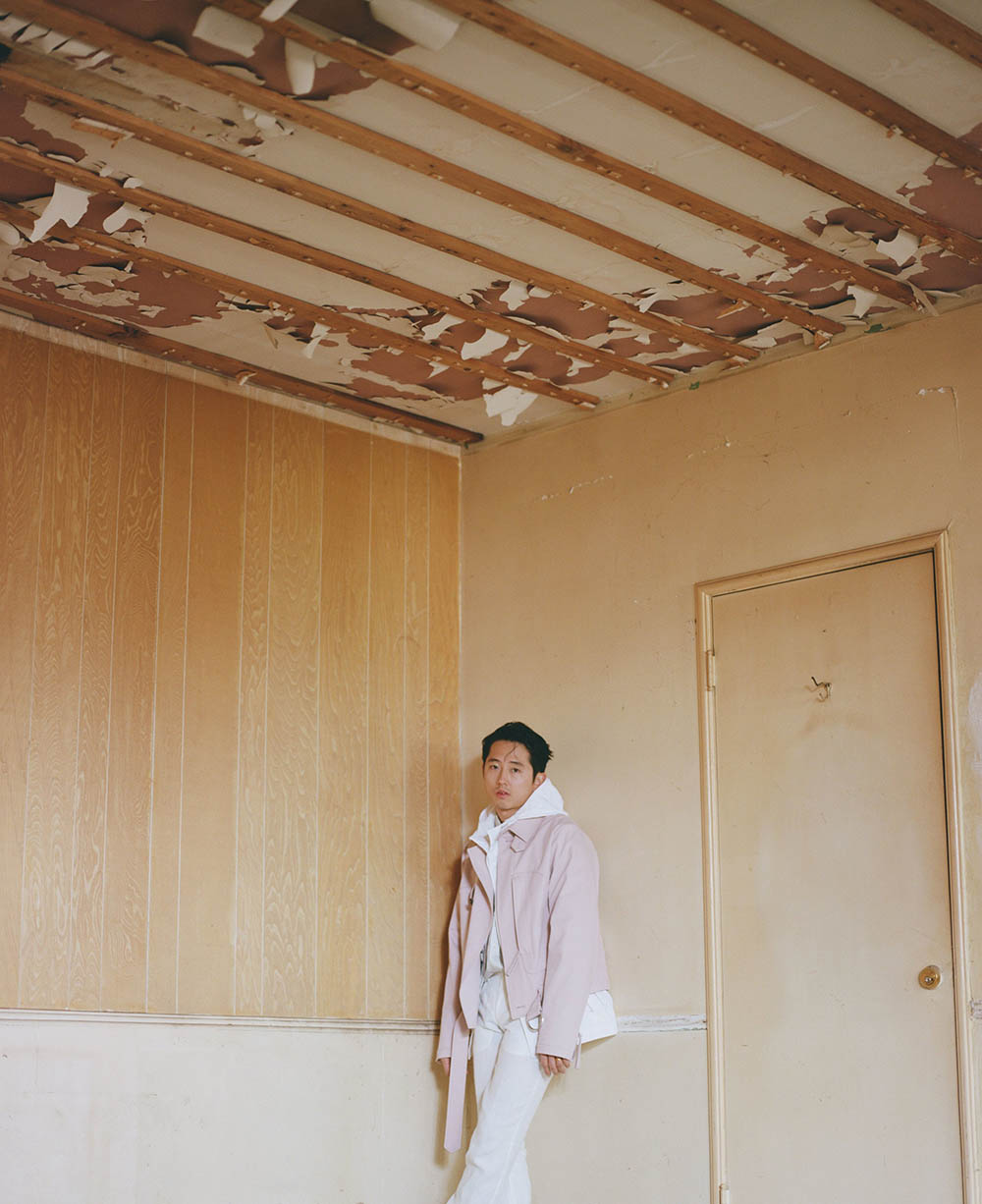 Steven Yeun by Shane Mccauley for Flaunt Magazine Issue 164