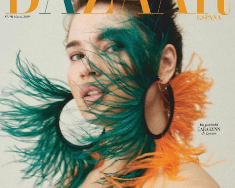 Tara Lynn covers Harper's Bazaar Spain March 2019 by Van Mossevelde + N
