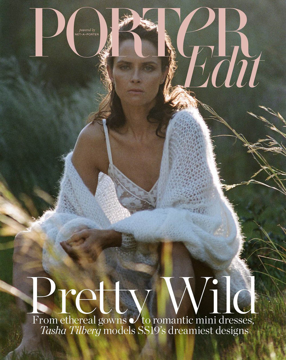 Tasha Tilberg covers Porter Edit March 29th, 2019 by Jean Pierrot
