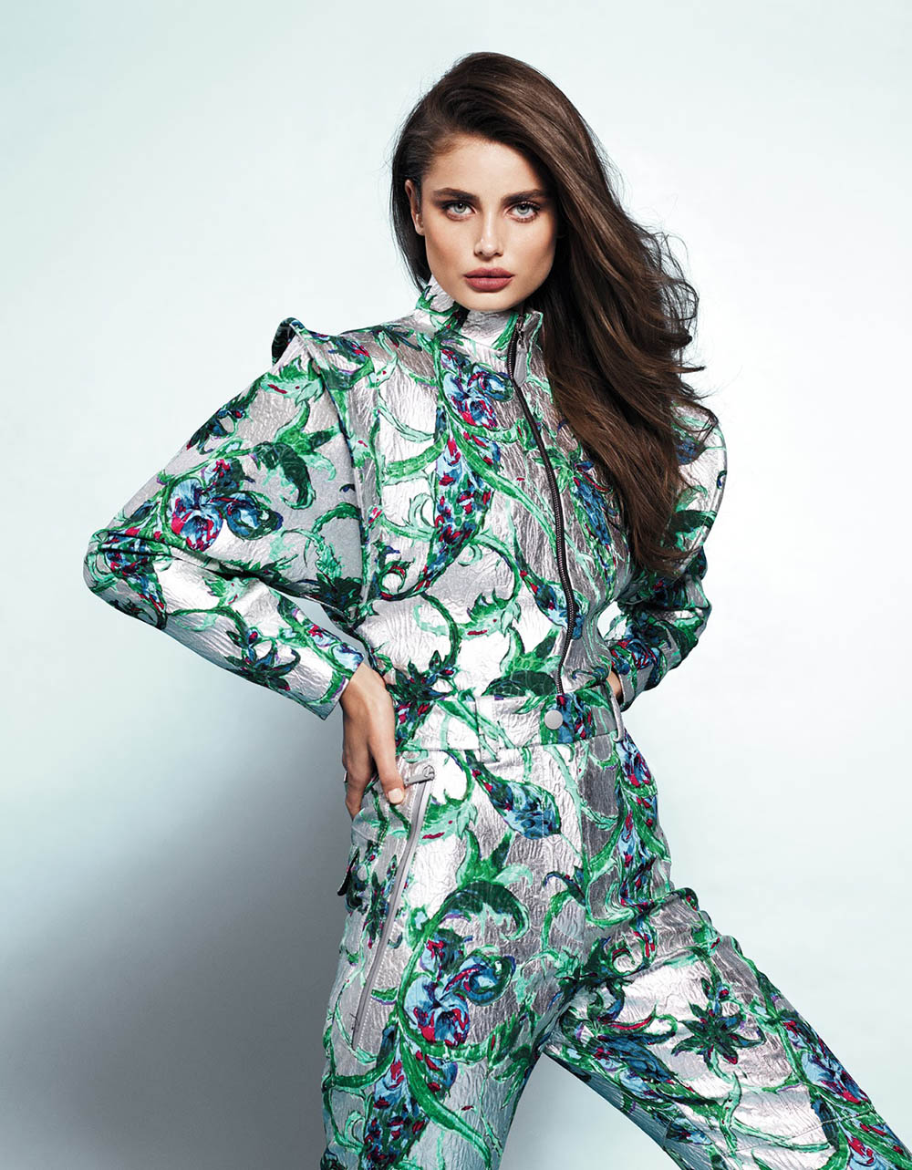 Taylor Hill covers Vogue Mexico March 2019 by Phil Poynter