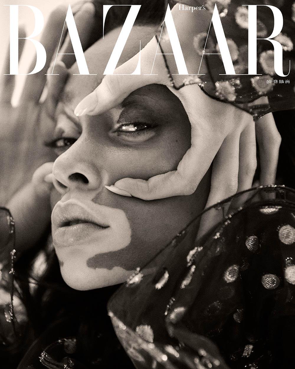 Winnie Harlow covers Harper's Bazaar Taiwan March 2019 by Harper Smith