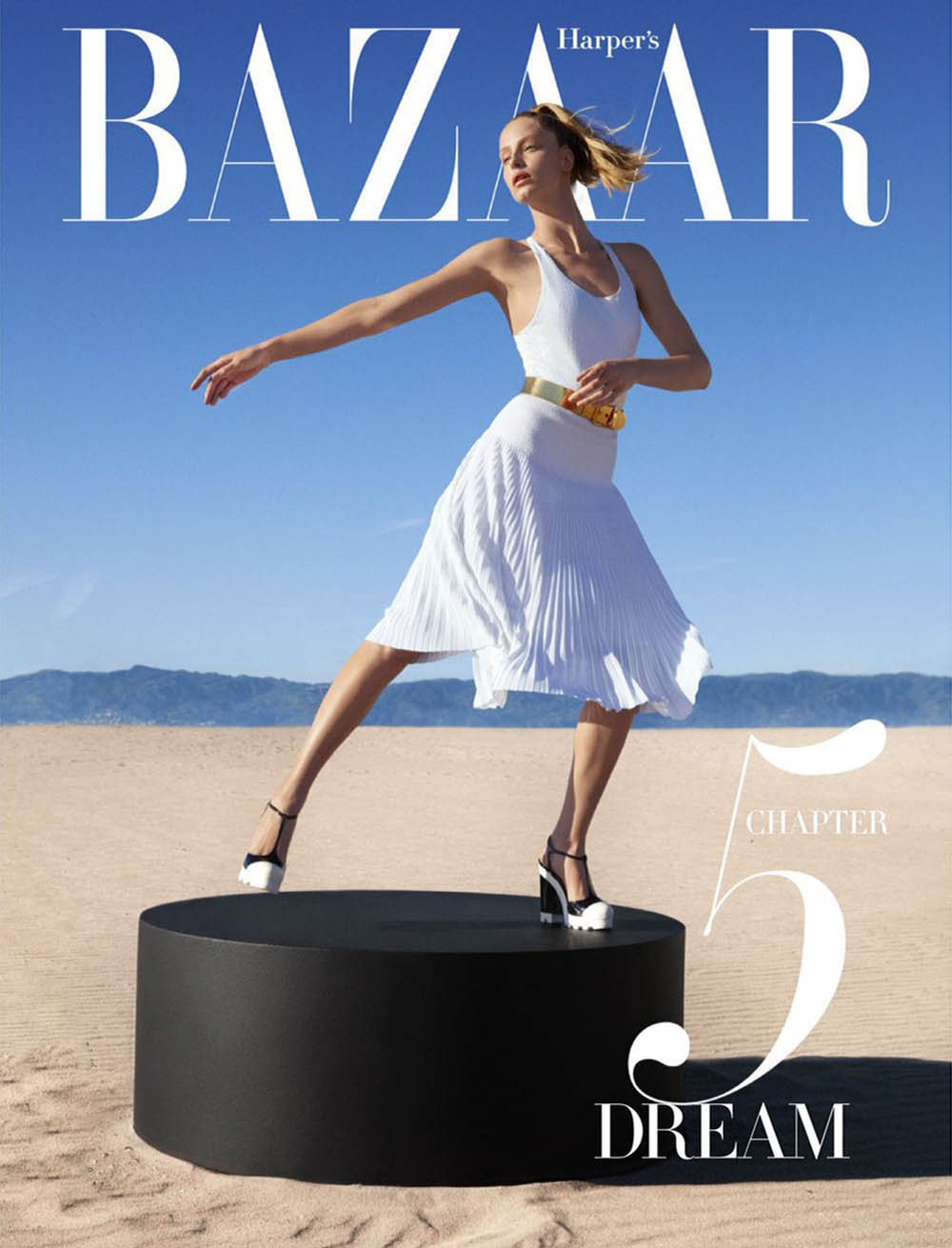 Abby Champion by Camilla Akrans for Harper's Bazaar US April 2019