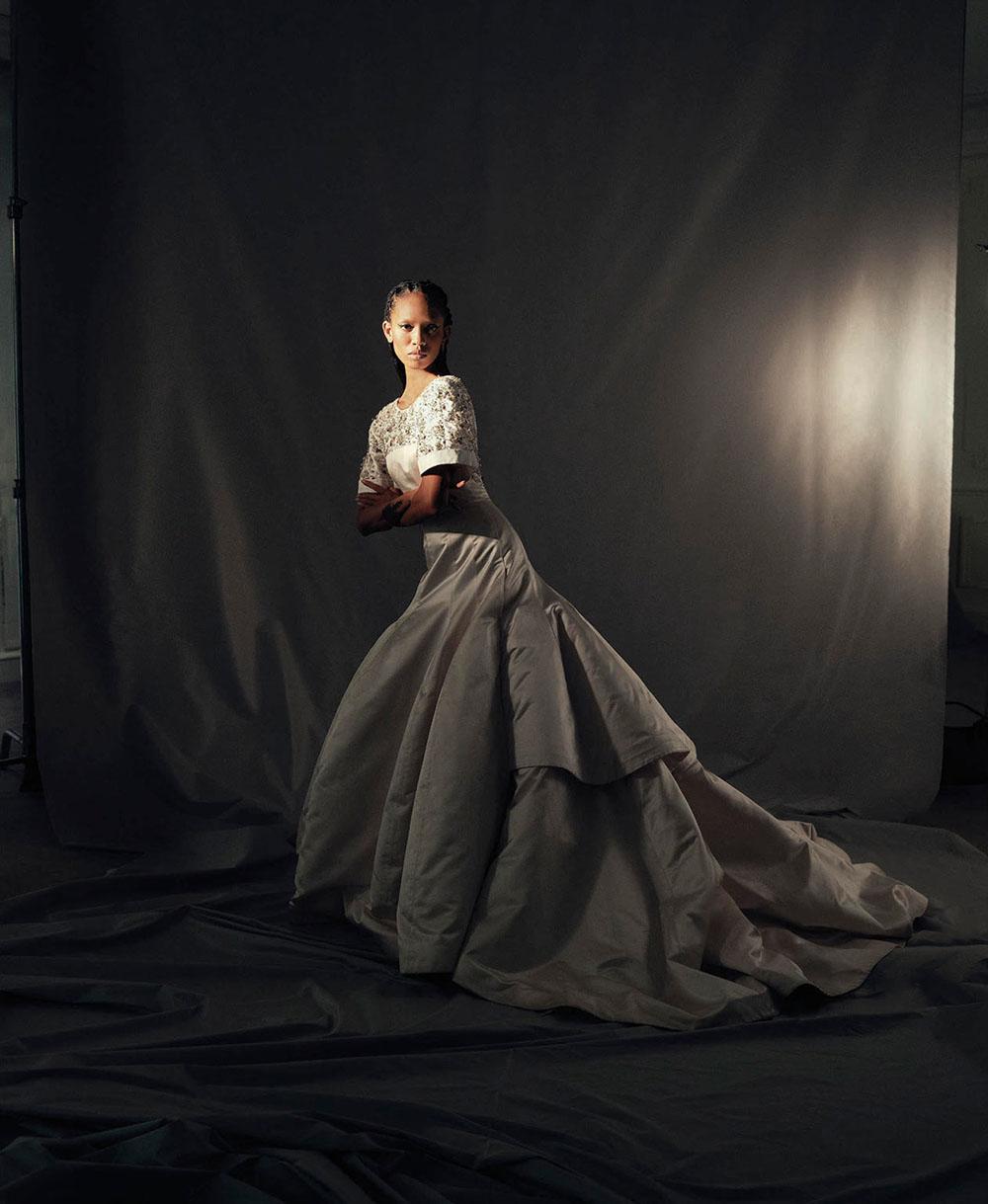 Adesuwa Aighewi by Cecile Bortoletti for Porter Magazine Spring 2019