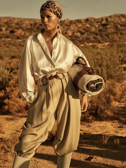 Anna Ewers by Lachlan Bailey for Vogue Paris April 2019