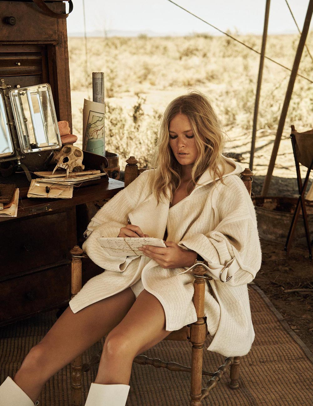 Anna Ewers by Lachlan Bailey for Vogue Paris April 2019