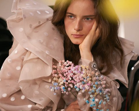 Anna de Rijk by Naomi Yang for Vogue Taiwan April 2019