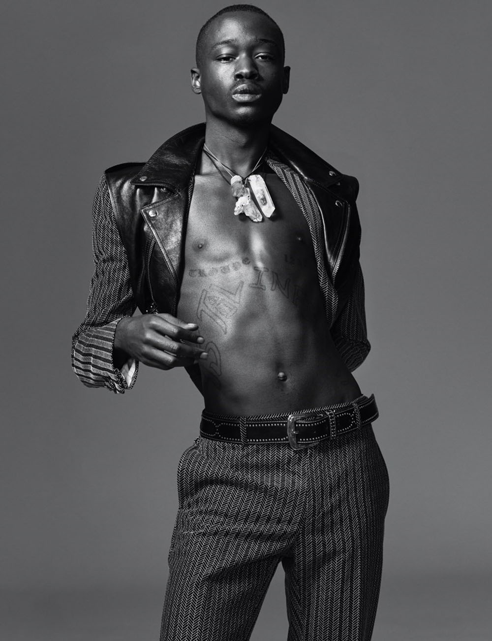 Ashton Sanders covers AnOther Man Spring Summer 2019 by Ethan James Green