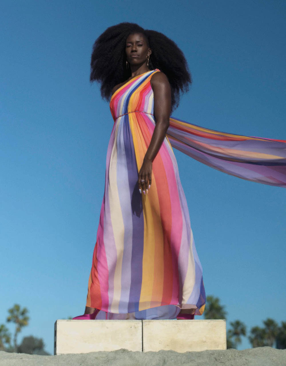 Bozoma Saint John by Luke Gilford for Porter Magazine Summer 2019