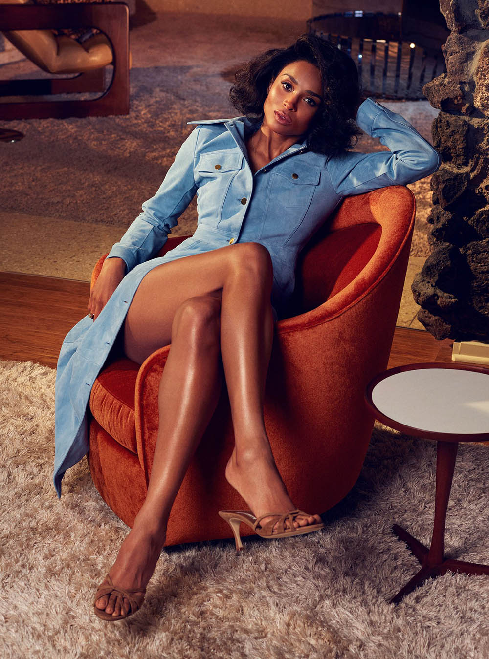 Ciara covers InStyle US April 2019 by Phil Poynter